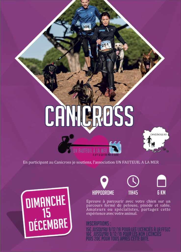 Affiche Canicross 2019